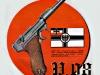 Рекламный плакат пистолета «Люггера»