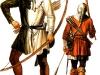 Лучники – ополченцы. XIV век