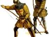 Английские профессиональные лучники. XIV - XV век