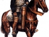 Английский конный лучник. XV век