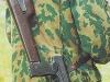 Ношение АПС с примкнутой кобурой на ружейном ремне