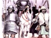 Гуситская армия в походе