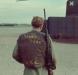 Морпех армии США в бронежилете