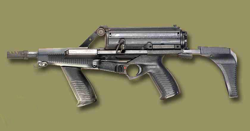 9-мм пистолет-пулемет Calico