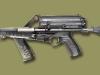 9-мм пистолет-пулемет Calico M960 с магазином на 50 патронов