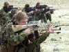 Британские солдаты с Diemaco C7 на стрельбах