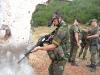 "Бельгийский солдат ""Kosovo Force"" с FN FNC"