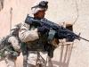 Американский солдат с M249. Ирак