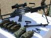 FN Minimi с полной амуницией