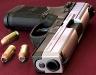 Пистолет FN FNP-45 с патронами