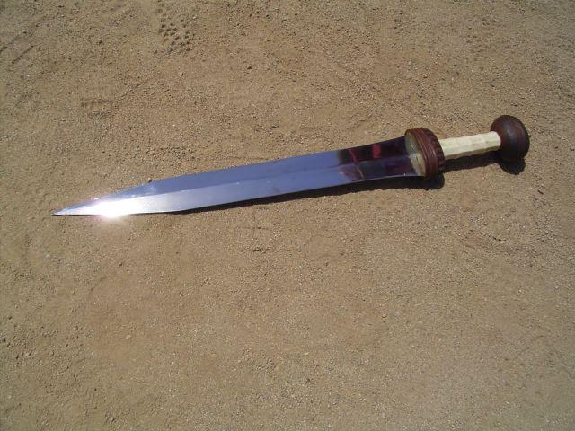 Как сделать меч гладиус