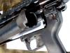 Подствольный гранатомет AG36, казенная часть ствола откинута для перезарядки