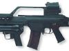 Heckler-Koch HK G36 со сдвоенным оптическим / коллиматорным прицелом и подствольным 40мм гранатометом AG36