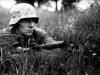 Солдат Вермахта с надульным гранатометом Gewehrgranatgerat