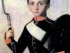Портрет кадета Аракчеевского кадетского корпуса. Вторая половина 1840-х годов