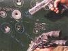 Эффект пули М1911А1, выпущенной в дверь авто