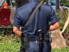 Непальский офицер с кукри на поясе