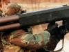 Американский солдат с М202 «FLASH». 80-е года ХХ века
