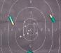 Выстрел из «Mossberg 590» в мишень