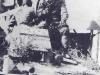 Японский танкист с пистолетом «Nambu Type 14»