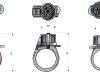 Схемы перстней-револьверов