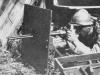 «Виллар-Пероса» М1915 на треногом станке и с бронещитком