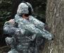 Солдат будущего с оружием будущего